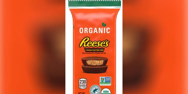 The Hershey Company announced the introduction of Organic Reese's Peanut Butter Cups on Thursday.