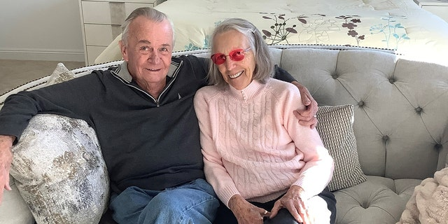 Dennis and Diane remarried again on Veterans Day on Nov. 11 last year: the day of their original wedding anniversary 59 years ago. (Courtesy Dennis and Diane Reynolds)