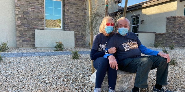 Dennis, through Veterans United Home Loans, is using his home loan benefit for vets to build a dream home for Diane. (Courtesy Dennis and Diane Reynolds)