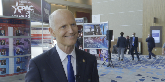 Sen. Rick Scott, R-Fla., told Fox News at CPAC 2021 that he believes Republicans can flip Democrat-controlled Senate seats in at least 4 states in 2022, as he continued to say there is not civil war in the GOP.