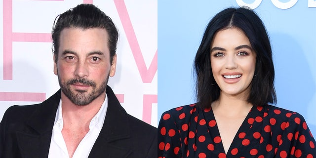 Actors Skeet Ulrich (left) and Lucy Hale (right) have sparked romance rumors after an afternoon out together.