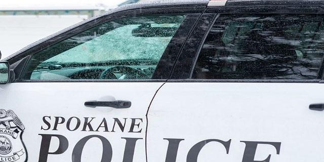 Police vehicle. (Spokane Police Department)