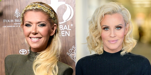 Tara Reid (left) called Jenny McCarthy 'nasty' following a 2016 interview between the two.