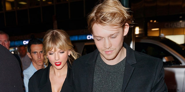 Taylor Swift said Joe Alwyn helped inspire her to speak out politically.