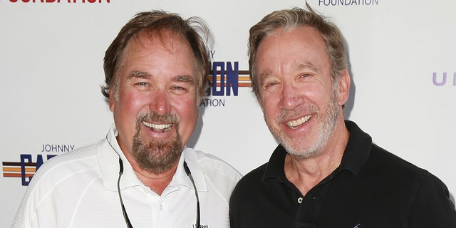 Richard Karn (left) and Tim Allen (right) will co-host 'Assembly Required.' (Photo by Leon Bennett/FilmMagic)