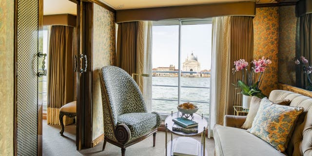 The S.S. La Venezia sails throughout Venice and stops at key spots. The ship is operated by 42 Uniworld employees. (Uniworld Boutique River Cruises)