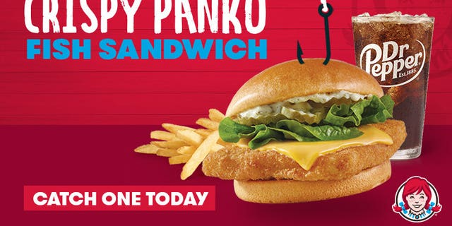 Wendy's is serving a new Crispy Panko Fish Sandwich, replacing  its traditional Cod Sandwich.