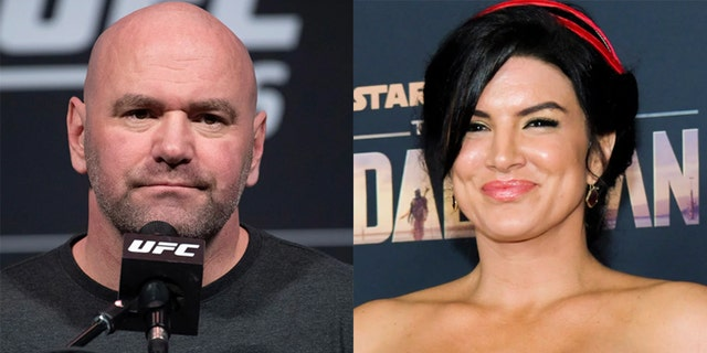 Dana White commented on former MMA fighter Gina Carano's firing from 'The Mandalorian.'