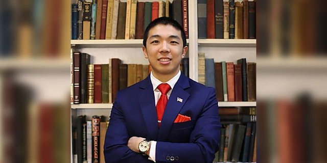 Kevin Jiang, 26, wasa graduate student at the Yale School of the Environment, as a member of the class of 2022.