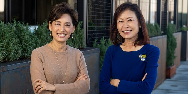 BUENA PARK, CA - DECEMBER 18: Young Kim, left, and Michelle Steel were elected to the U.S. House of Representatives in November, 2020. Kim represents the 39th congressional district and Steel the 48th congressional district in California. They were photographed in Buena Park, CA on Friday, December 18, 2020. (Photo by Paul Bersebach/MediaNews Group/Orange County Register via Getty Images)