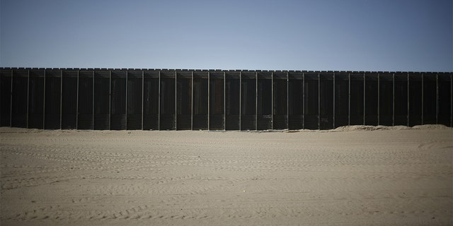 The Yuma Border Sector on the US/Mexico border in San Luis, Arizona.