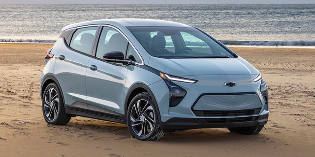 The Bolt EV has been restyled for 2022.
