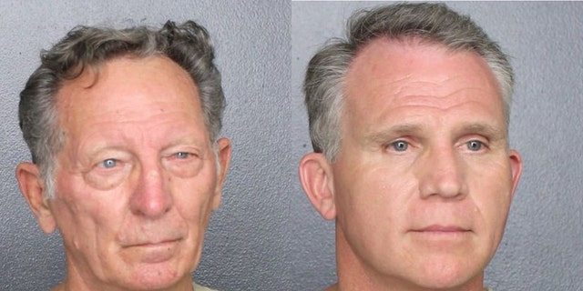Gary Brummett, 81, (left) andWalter Wayne Brown Jr., 53, (right) were both arrested on Feb. 11 for allegedly pretending to be U.S. marshalls exempt from wearing face masks.