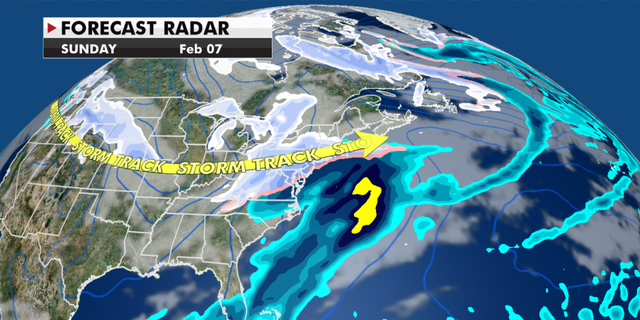 Radar conditions expected over the weekend. (Fox News)