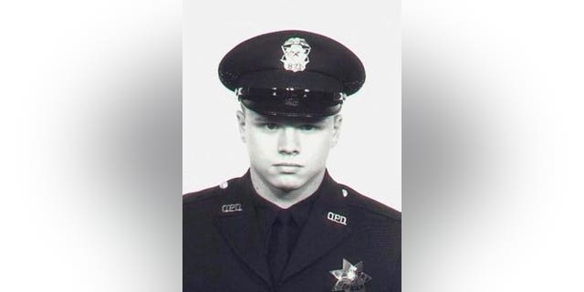 Oakland police Officer John Frey was fatally shot in 1967, leaving behind a wife and daughter. (Oakland Police Department)