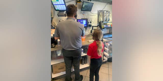 On. Jan 29, Harper spent a few hours at the Gulf Breeze Chick-fil-A after school, learning more about the inner workings of the restaurant.