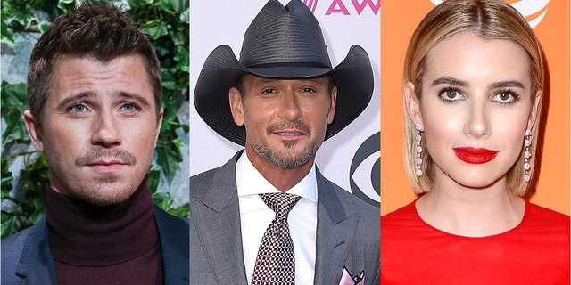 Garrett Hedlund has chosen Tim McGraw to be the godfather to his and Emma Roberts' son, Rhodes.