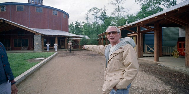 Paul Newman's Hole in the Wall Gang Camp raises millions to rebuild site after devastating fire.jpg