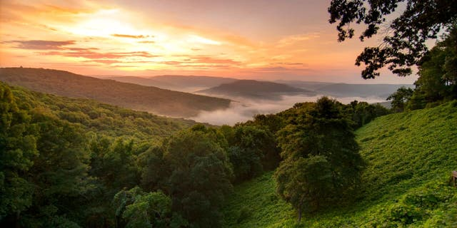 The Ozark Mountains and known for their beauty and outdoor recreational opportunities. The region is also home to three Fortune 500 companies.