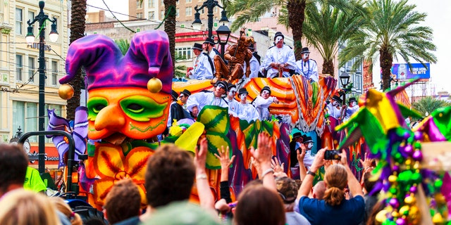 Did you know thatMardi Gras was banned in New Orleans until Louisiana became a state?
