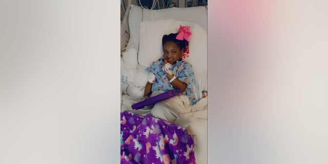 The child endured four days in the pediatric intensive care unit, but has since made a 'full recovery,' the hospital and the child's parents say.