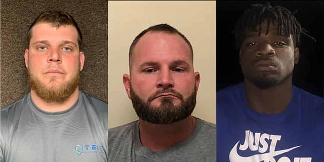 Beaux Cormier, center, hired Andrew Eskine, left, and Dalvin Wilson in the botched murder-for-hire plot, officials said.