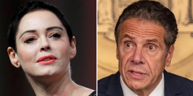 La actriz activista recientemente convertida pidió una investigación sobre las acusaciones contra el gobernador de Nueva York Cuomo en una entrevista con Fox News.