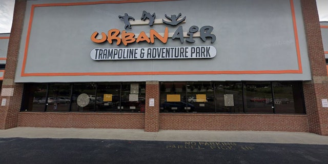 Officers were called to the car park of Urban Air Trampoline and Adventure Park