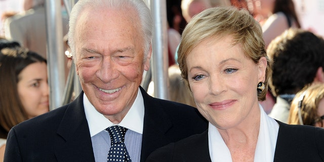 "Christopher Plummer and actress Julie Andrews attend the 2015 TCM Classic Film Festival's opening night gala premiere of the 50th Anniversary of ""The Sound Of Music"" at TCL Chinese Theatre IMAX on March 26, 2015."