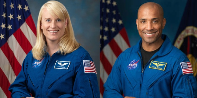 Flight engineers Kate Rubins and Victor Glover will leave the International Space Station on Sunday for a space walk.