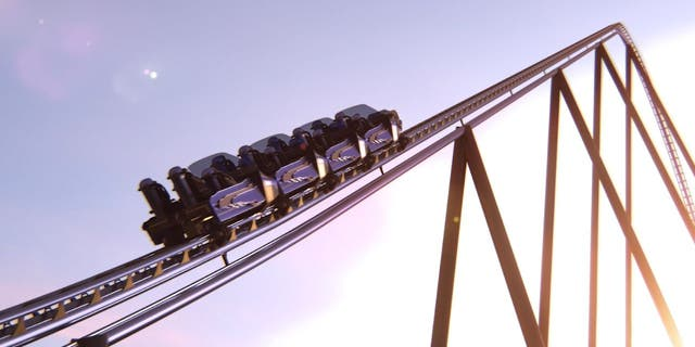 Falcon's Flight will reach speeds of more than 155 mph.