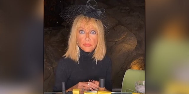 Suzanne Somers said growing up the child of an alcoholic helped her keep her cool in a recent tense situation.