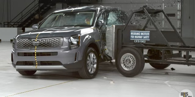 The Kia Telluride is a 2021 Top Safety Pick.