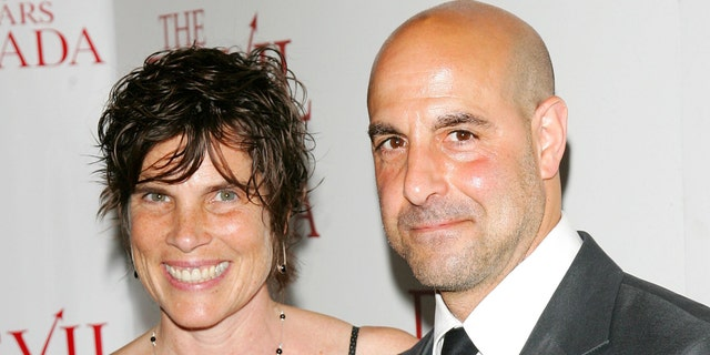 Stanley Tucci and his late wife Kate in 2006. She died in 2009.