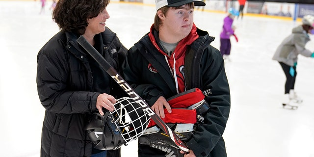 Feb. 9, 2021: Suzy Lindeberg, mother of 20-year-old John worries that the state of Minnesota has placed people with disabilities too far down the priority list.