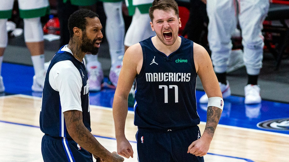 Doncic hits last-second 3 to lift Mavs over Celtics 110-107