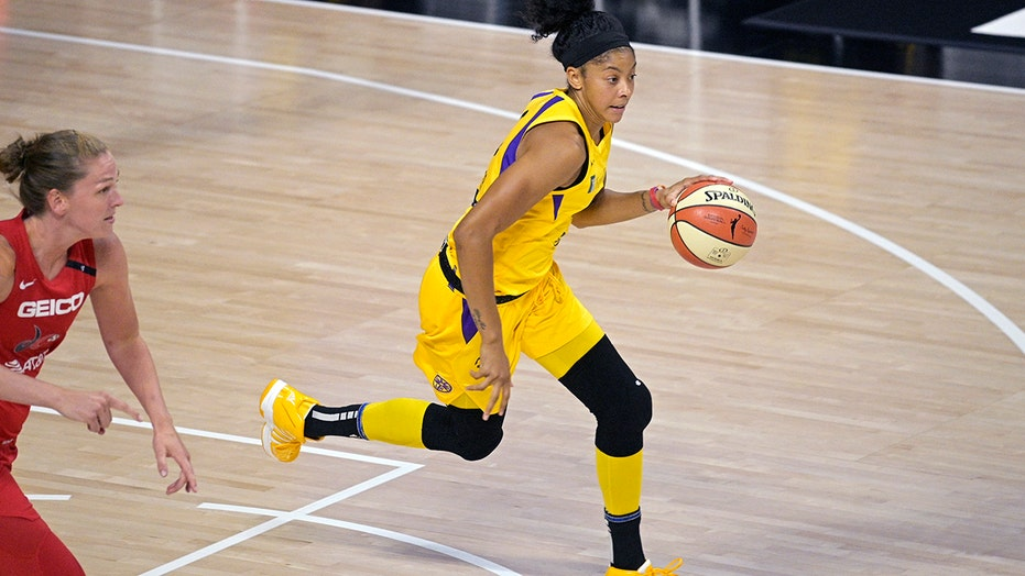 Globe-trotter Candace Parker returns home to play for Sky
