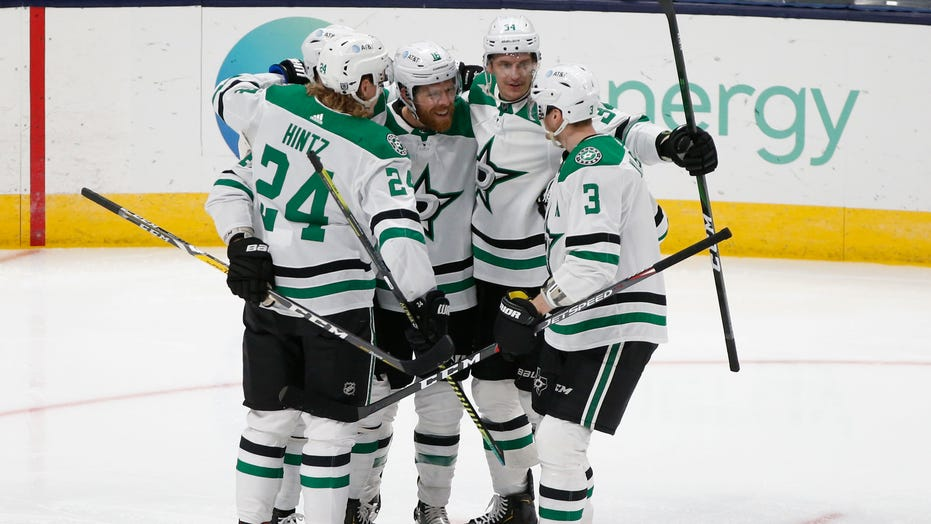 Pavelski tallies twice as Stars beat Blue Jackets 6-3