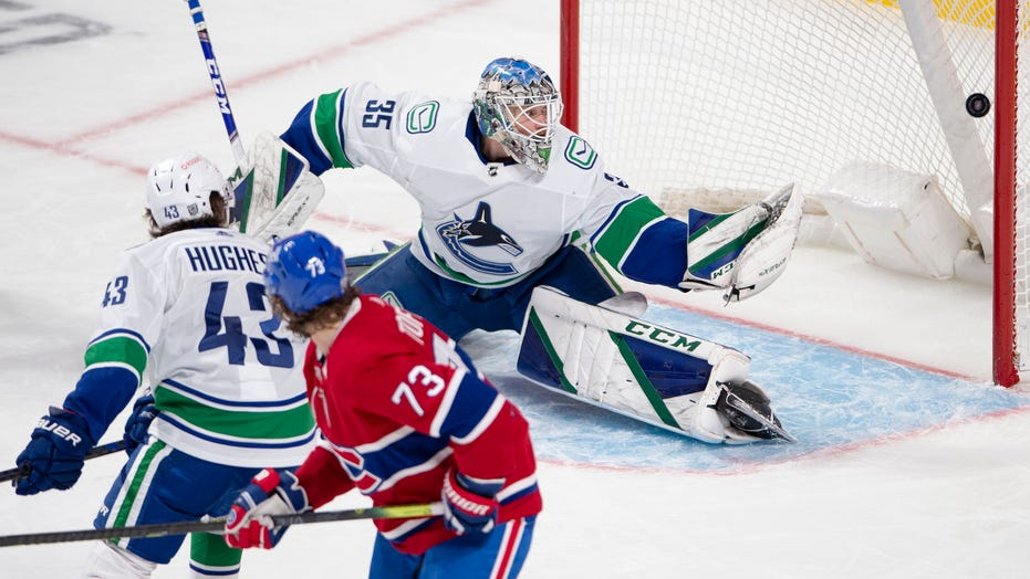 Weber plays 1,000th game; Canadiens beat Canucks 5-3