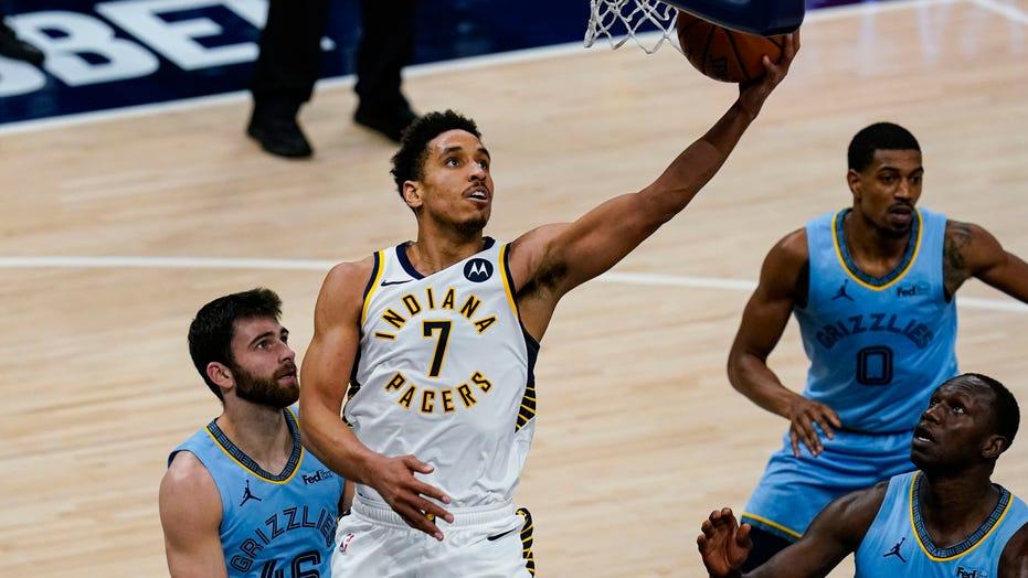 Pacers top Memphis 134-116, snap Grizzlies' 7-game streak