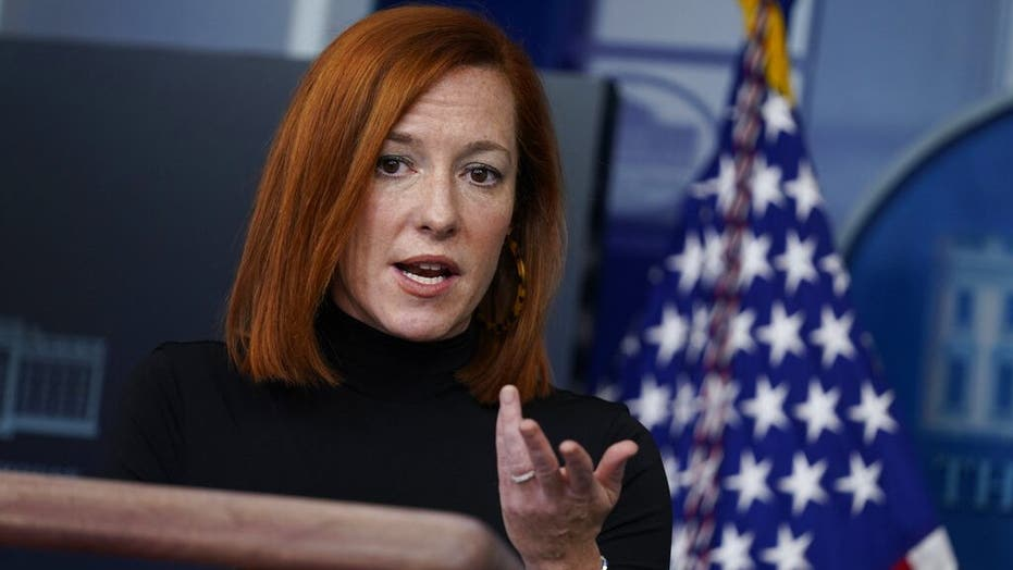 Psaki admits parents shouldn't be 'satisfied' with in-person school one day a week as Biden takes heat