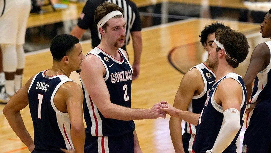 Gonzaga, Baylor sit atop AP Top 25; Kansas returns at No. 23