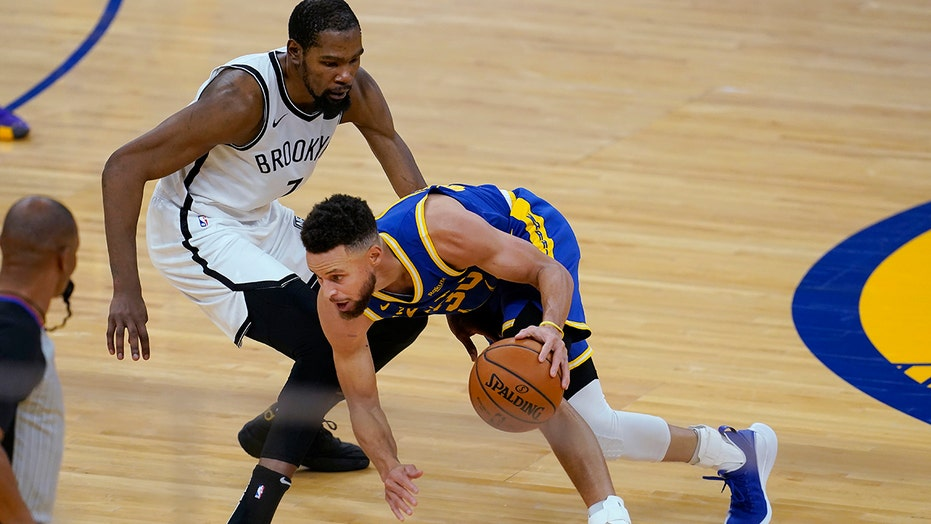 Durant leads Brooklyn past Warriors in Golden State reunion