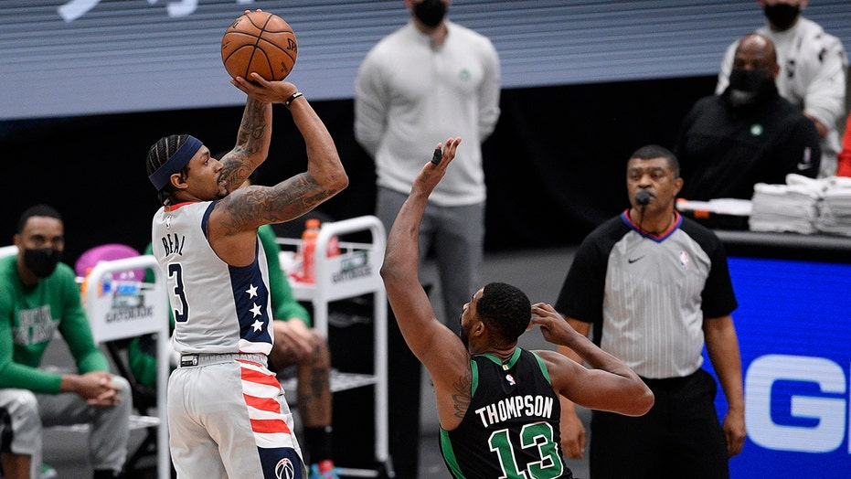 Refreshed Beal scores 35, leads Wizards past Celtics 104-91