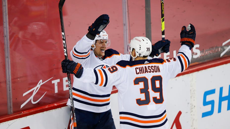 Oilers beat Flames 2-1 to open home-and-home series