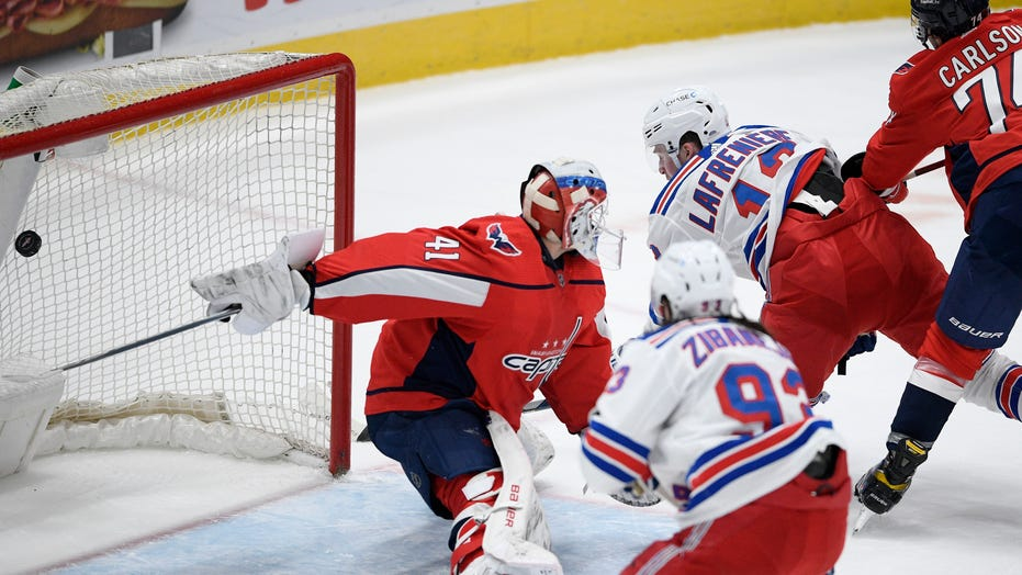 Lafrenière scores 2nd of season, Rangers beat Capitals 4-1