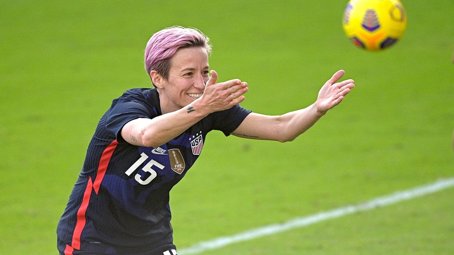 Press, Rapinoe score, US beats Brazil 2-0 in SheBelieves Cup