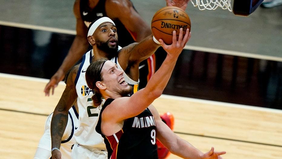 Butler, Dragic carry Heat past NBA-best Jazz, 124-116