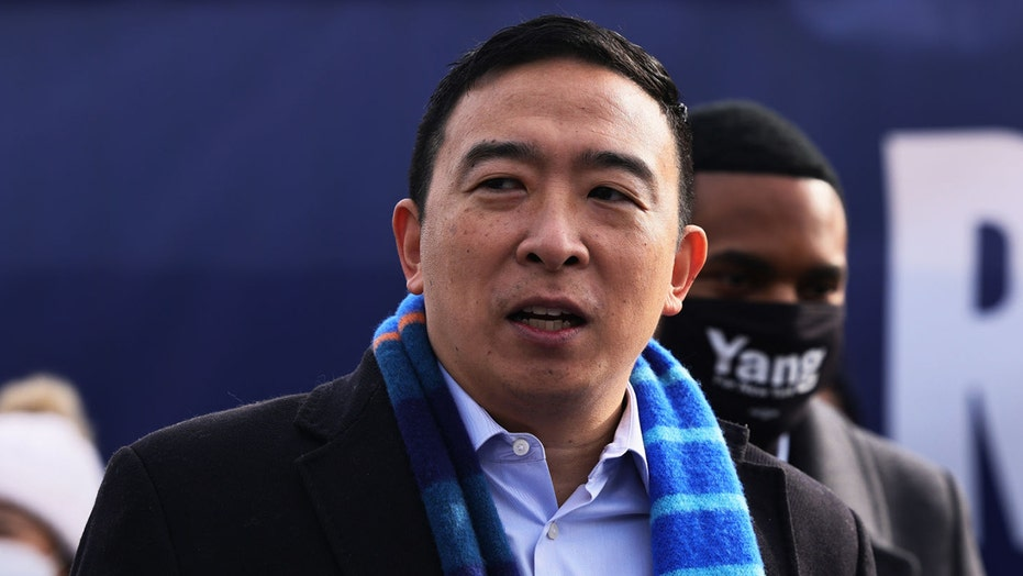 Andrew Yang's wife alleges 'racist disfiguration' of husband in Daily News cartoon portraying him as a tourist