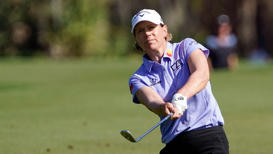 Sorenstam returns with a lot more stress and fewer birdies